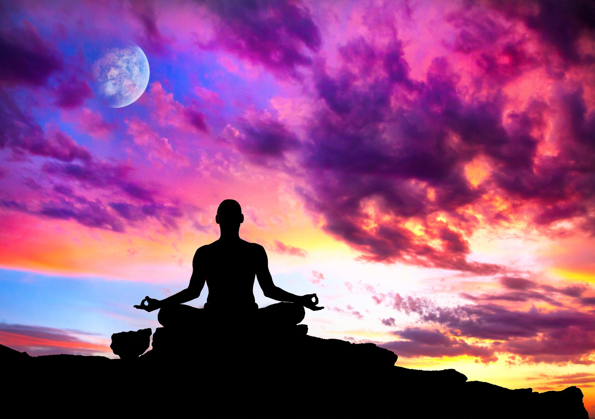 Thinking through my money strategy as I meditated.